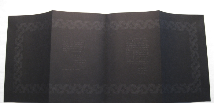 two propositions in black (1968) – la monte young & marian zazeela from s.m.s.#1