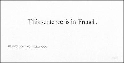 Self-Validating Falsehood