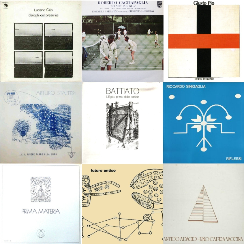 the obscure brilliance of italian minimalism (in nine albums