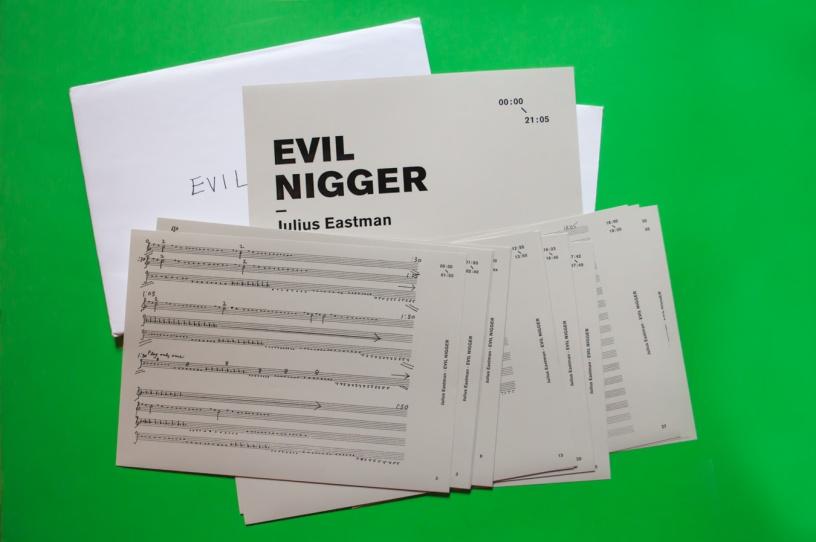 Julius-Eastman-Evil-Nigger-score