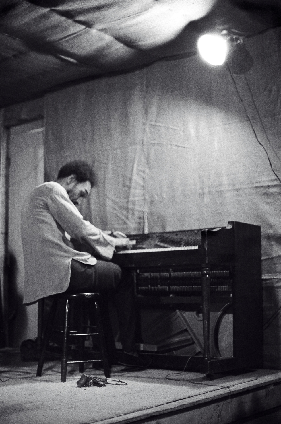 Sam Rivers on piano