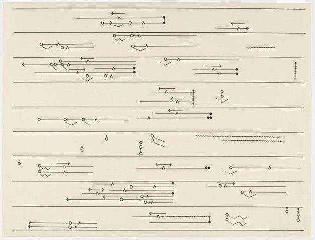 Kaiki [Recurrence] for Koto for John Cage by Toshi Ichiyanagi, 1960